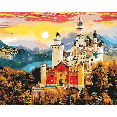 """Картина по номерам """"Осенний замок"""" 40х50 см 10602-AC"""