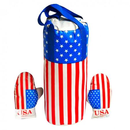 """Боксерский набор """"Америка"""" большой L-USA"""