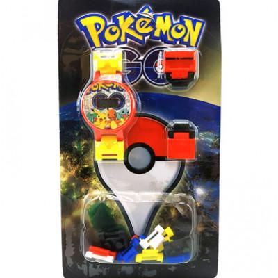 Часы-конструктор Pokemon GO BT-PG-0012