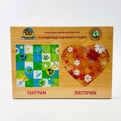 Детский набор Танграм. Набор с 4 танграмов ТГ-022