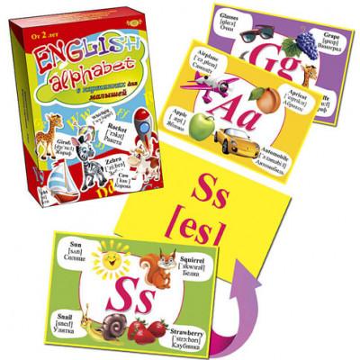 Алфавит для малышей в рисунках (англ.) МКА0003
