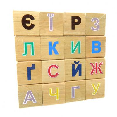 Азбука деревянная ВП 018