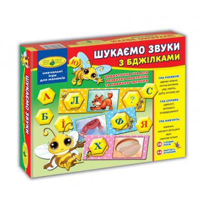"""Игра """"Ищем звуки с пчелками"""" в коробке укр 4820121182593"""