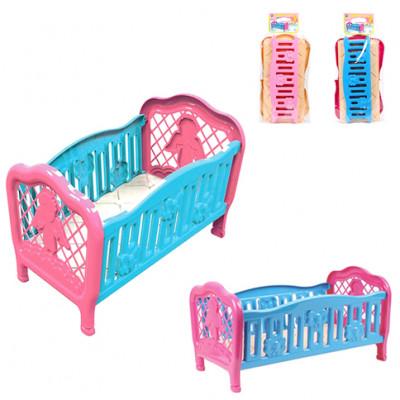 Кровать для куклы ТехноК Техн.4517