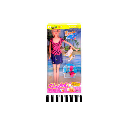 "Кукла ""Каibibi"" с собачкой и аксессарами BLD134"