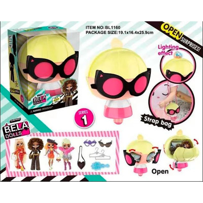 """Игровой набор """"Кукла Bela Dolls"""" (аксессуары+сюрпр BL1160"""