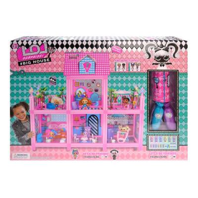 """Будиночок для ляльки """"L.Q.L"""" в коробці р.65*49*13,3см 8369"""