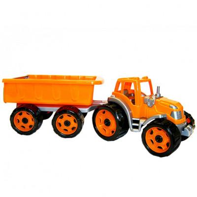 Трактор с большим прицепом Техн.3442