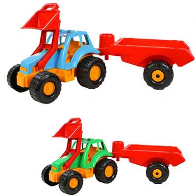 """Трактор """"Орион"""" с прицепом 993"""