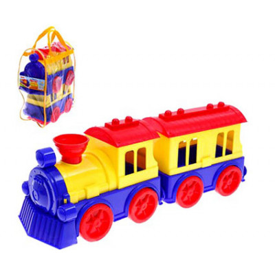 """Игрушка """"Поезд с вагоном"""" Юника 70651"""