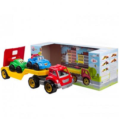 "Машина ""Автовоз"" с набором машинок Техн.3909"