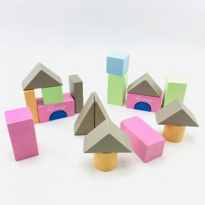 Городок разноцветный 20 элементов в коробке ВП 023/1