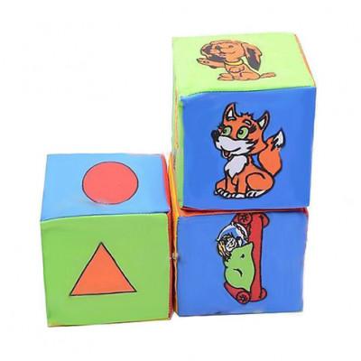 """Мякиши """"Набор из трех кубиков"""" Розум.0057"""