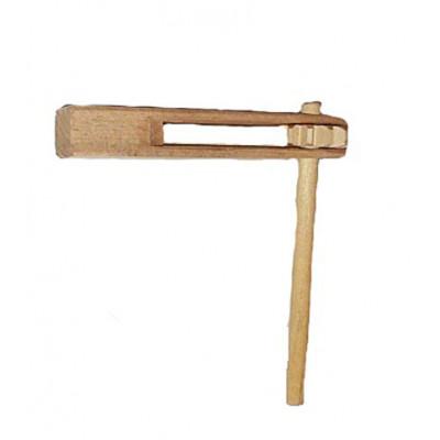 Трещалка деревянная 13 см 150-01-041