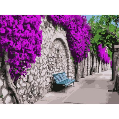 "Картина по номерам ""Бугенвиллия в Афинах"" 40х50 см 10522-AC"