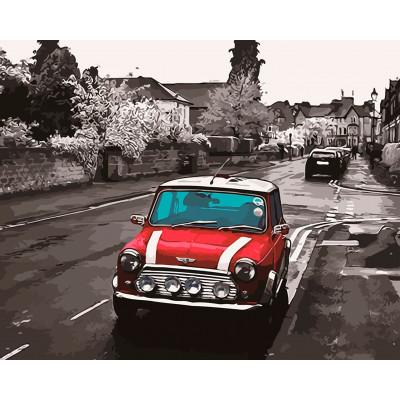 "Картина по номерам ""Mini Cooper"" тм Лавка Чудес 40 LC30059"