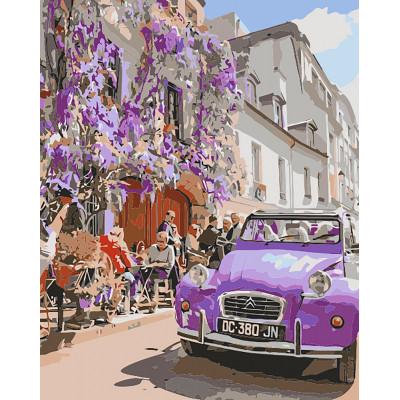"Картина по номерам ""Волшебный Париж"" тм Лавка Чуде LC30135"