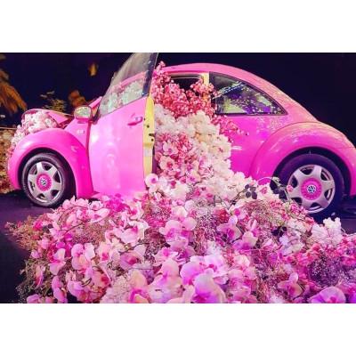 "Картина по номерам ""Авто в цветах"" тм Лавка Чудес 40 x 50 см в коробке LC40100"