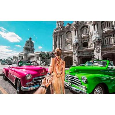 """Картина по номерам """"Гавана зовет"""" тм Лавка Чудес LC10036"""
