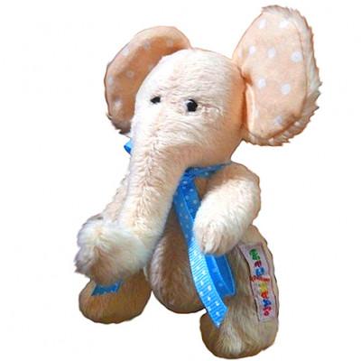 """Мягкая игрушка ручной роботы """"Слонёнок"""" шарнирный А027"""
