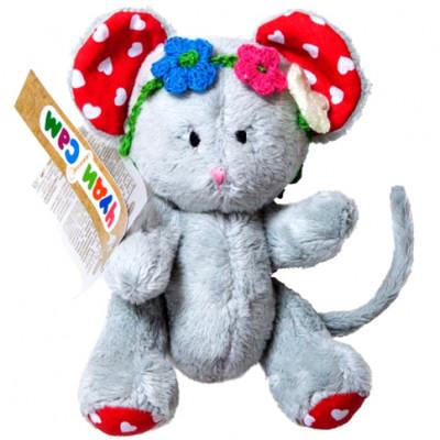 """Мягкая игрушка ручной роботы """"Мышонок"""" шарнирный А024"""