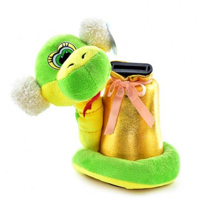 Мягкая игрушка Змейка копилочка 02-3869