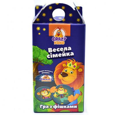 Crazy Koko Веселая семейка укр. VT8033-05