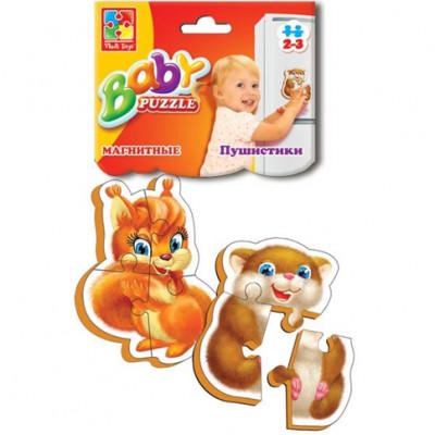 """Baby пазлы 2 в 1 """"Пушистики"""" VT3208-04"""
