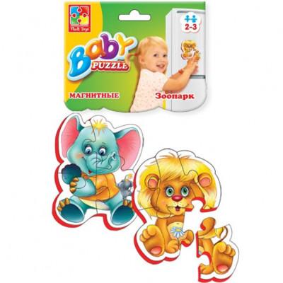 """Baby пазлы 2 в 1 """"Зоопарк"""" VT3208-01"""