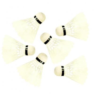 Воланы пластмассовые белые 10 шт BT-BPS-0004