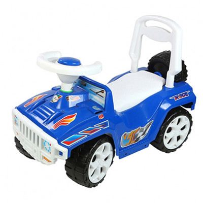 """Машинка-каталка """"Ориончик"""" синяя 419 С"""