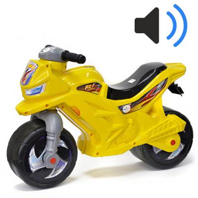 Мотоцикл-каталка лимонный 501в.5 Л