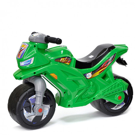 Мотоцикл-каталка зелёный 501З
