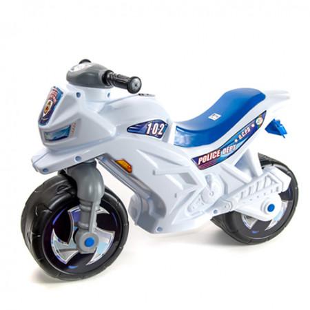 "Мотоцикл ""Police"" белый 501"