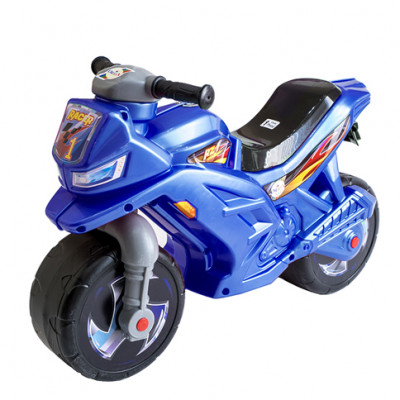 Мотоцикл-каталка (синий) 501С