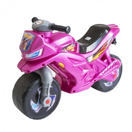 Мотоцикл-велобег (розовый) 501