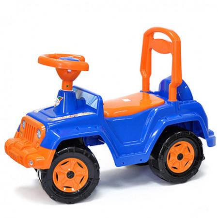 Машинка для катания 4х4 синяя 549 С