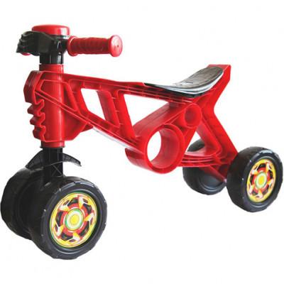 Мотоцикл Беговел красный 188