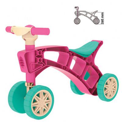 Ролоцикл розовый Техн.3824