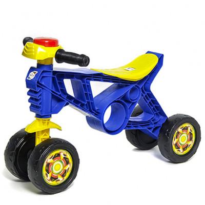 Мотоцикл-беговел синий 188