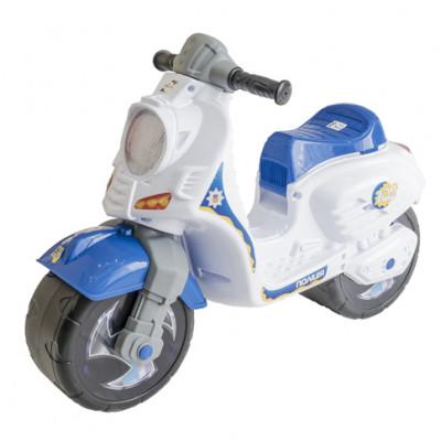 Скутер белый 502БЕЛ