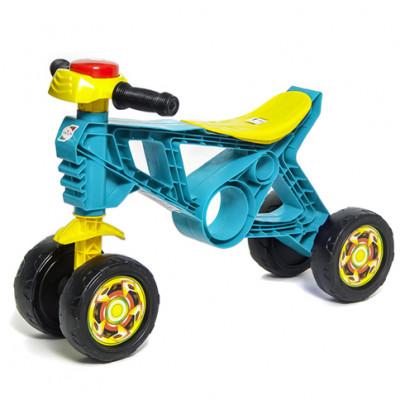 Мотоцикл-беговел бирюзовый 188