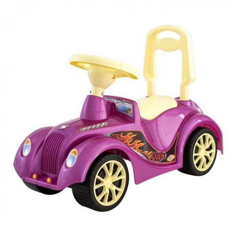 "Машинка-каталка ""Ретро"" розовая 900"