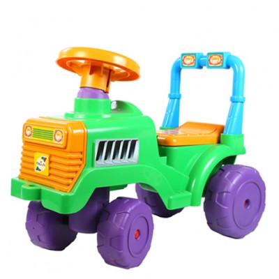 Машинка для катания Беби Трактор зеленый 931