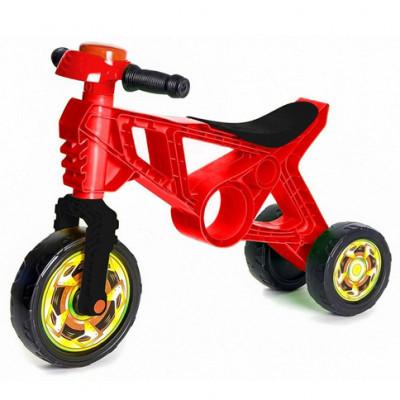 Мотоцикл Беговел красный 171