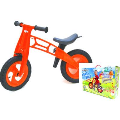 """Велобег 12 """"Cross bike"""" оранжевый НЕО 11-018 Ор."""