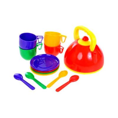 Посуда с чайником 13 предметов Юника 70279
