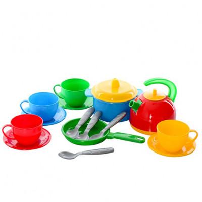 """Посудка """"Маринка 5"""" чайник, кастрюля, сковорода Техн.1134"""