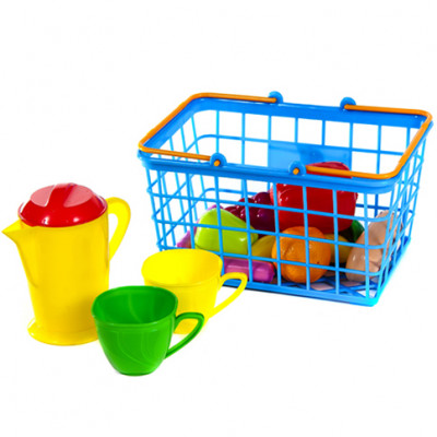 Корзинка продукты и посуда в наборе 423 в.2
