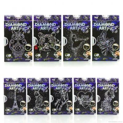 Набор креативного творчества DIAMOND ART DAR-01-01,02,03,04...09